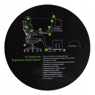 """8.5"""" Ergo Tips Mouse Pad"""