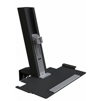 QuickStand Black, Light Mount Assembly with Small Platform