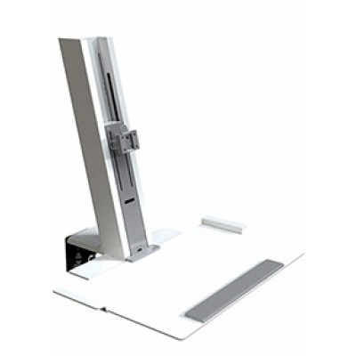 QuickStand White, Light Mount Assembly with Large Platform
